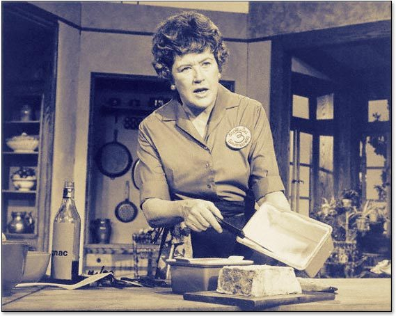The amazing (and hilarious) Julia Child